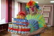 весёлый клоун Бублик на день рождения для детей и взрослых